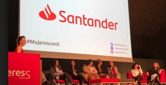 Banco Santander impulsa el desarrollo profesional de las mujeres