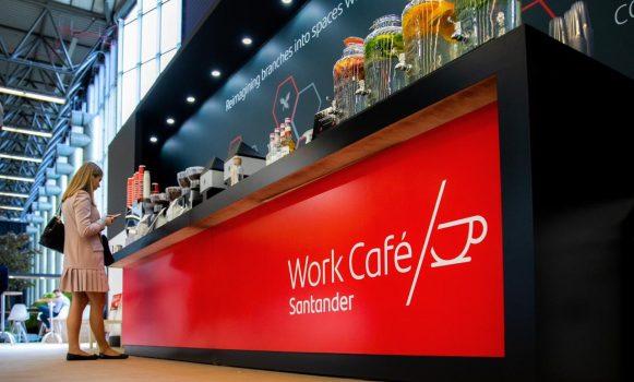 Banco Santander Chile presenta el modelo Work Café en el foro mundial de las Fintech
