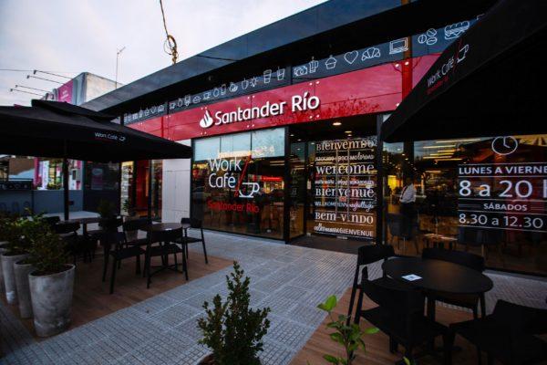 Banco Santander Río inaugura su segundo Work Café en Argentina