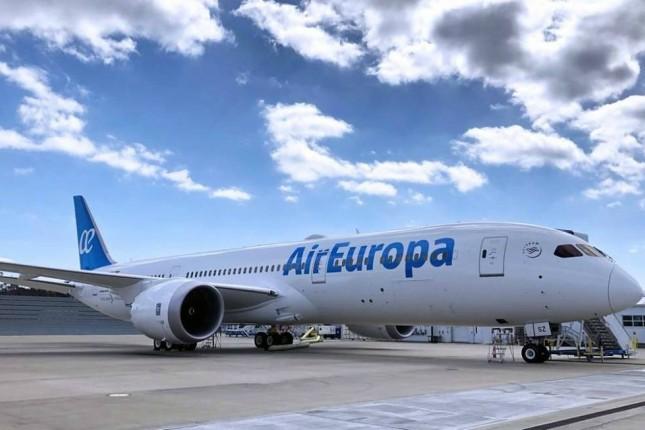Air Europa prevé superar los 12 millones de pasajeros en 2019