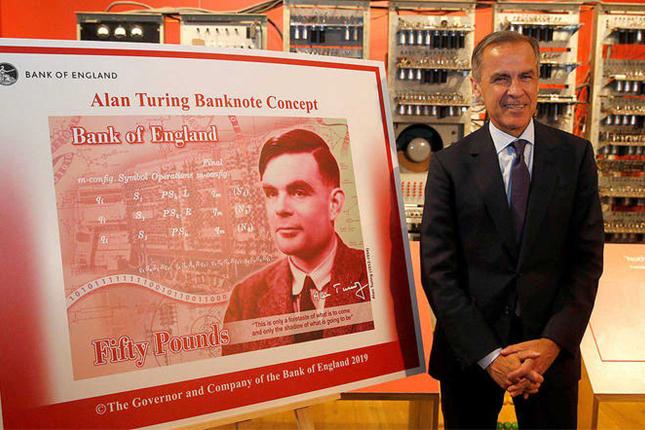 Alan Turing será la imagen del nuevo billete de 50 libras