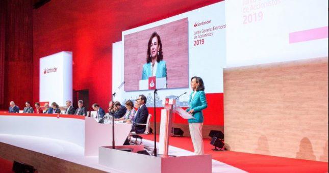 """Ana Botín (Banco Santander): """"Creemos que la economía de México es atractiva y es una de las economías de mayor potencial de Latinoamérica"""""""