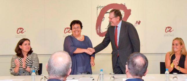 Banco Santander y la Universidad Rovira i Virgili amplían su acuerdo para impulsar becas, investigación y emprendimiento