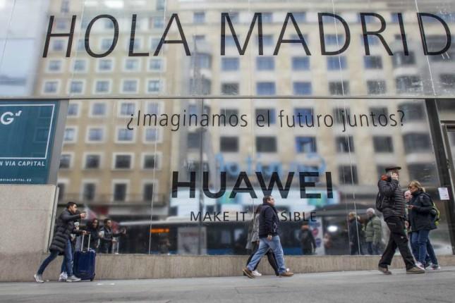 Huawei abre su tienda más grande en Madrid