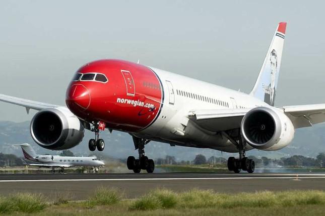 Norwegian transporta 319.370 pasajeros en septiembre