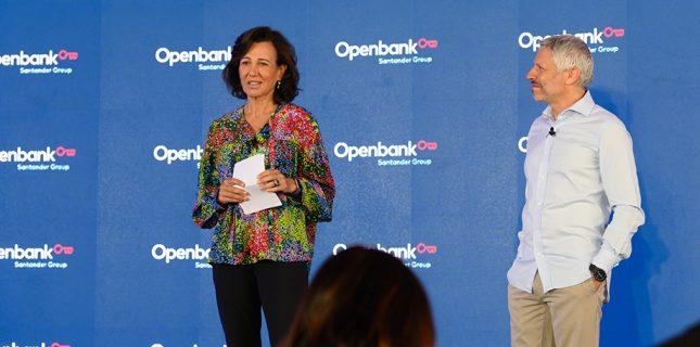 """Ana Botín (Banco Santander): """"450 mil de los 1,2 millones de clientes de Openbank nos consideran su banco principal"""""""