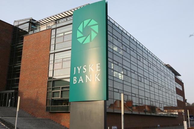 Jyske Bank aplicará un interés negativo a los depósitos de más de 100.400 euros