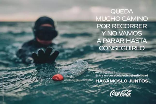 Coca-Cola trata de concienciar sobre la sostenibilidad