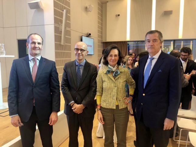 Ana Botín (Banco Santander) viaja a Argentina y anuncia un plan de crédito para impulsar el negocio de las pymes exportadoras