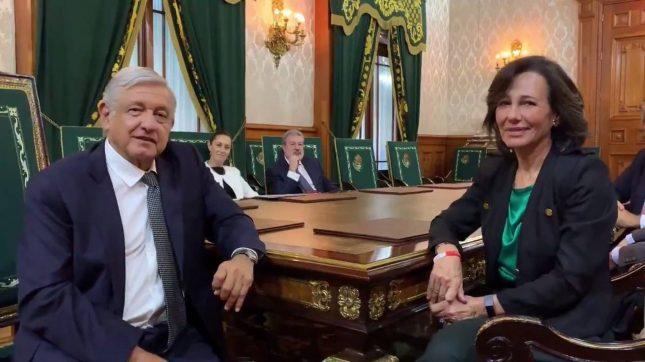 """Ana Botín (Banco Santander): """"Vamos a acompañar a México con nuestra actividad bancaria para impulsar el progreso"""""""