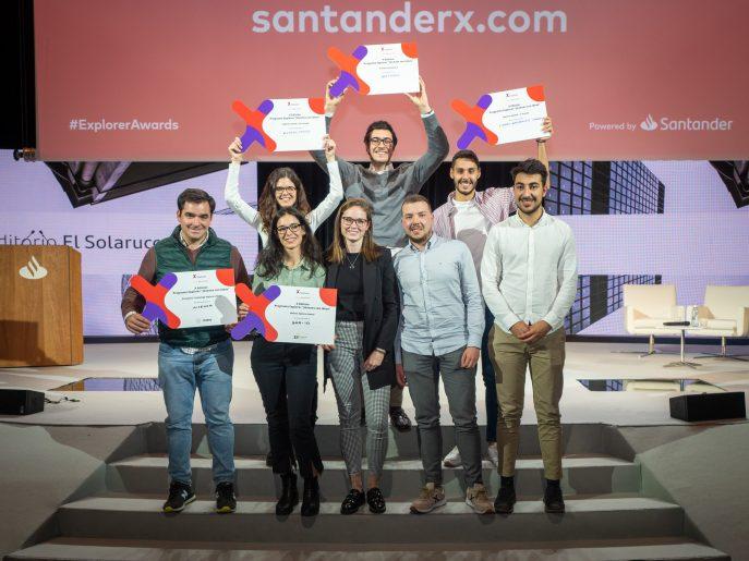 Banco Santander premia a la startup BactiDec en la X edición de Explorer Jóvenes con ideas