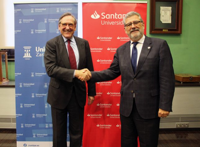Banco Santander impulsa acuerdos de colaboración con universidades para promover becas y emprendimiento