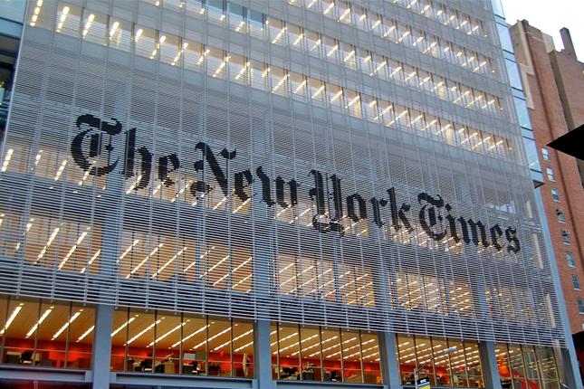 The New York Times Company gana 14,8 millones de euros en el tercer trimestre