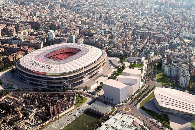 El Barça financiará la urbanización del entorno del Camp Nou