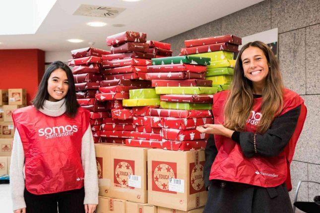 Banco Santander apuesta por el voluntariado para fortalecer sus programas sociales
