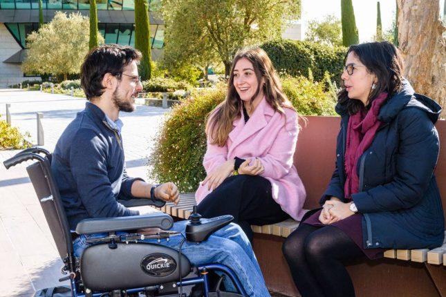 Banco Santander apuesta por la inclusión de las personas con discapacidad