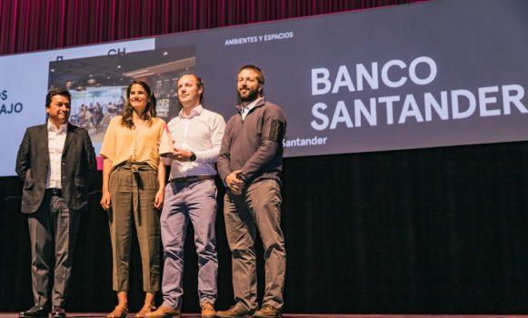 Work Café de Banco Santander recibe premio como referente del diseño en Chile