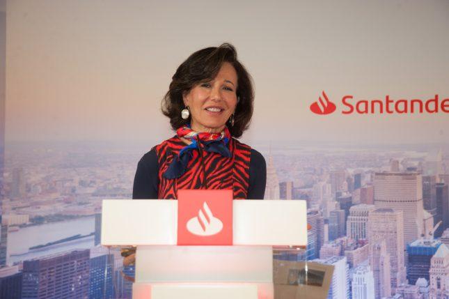 """Ana Botín (Banco Santander): """"Sólo trabajando juntos abordaremos con éxito los desafíos mundiales, desde el cambio climático hasta la desigualdad"""""""
