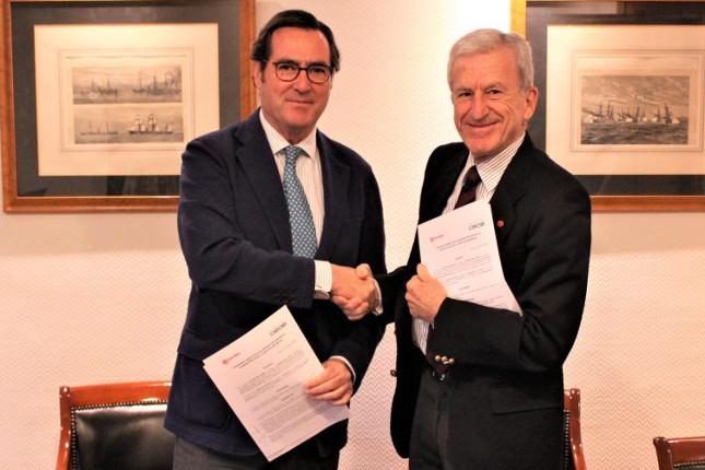 La Fundación CEOE y Cáritas impulsan la colaboración con fines sociales
