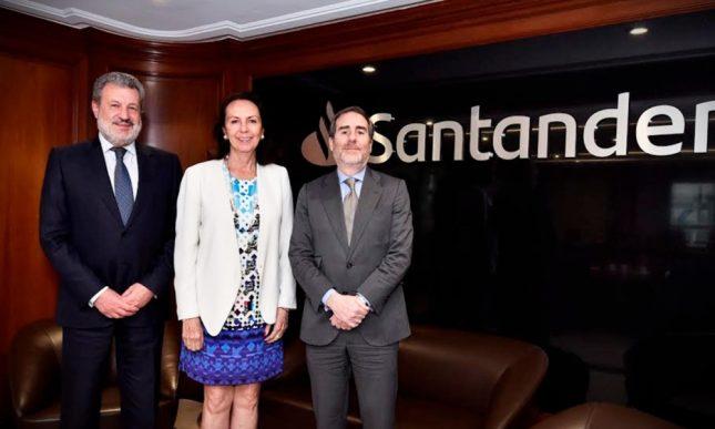 """Ana Botín: """"Laura Diez Barroso es la elección correcta para el momento y retos que tiene Banco Santander en México"""""""