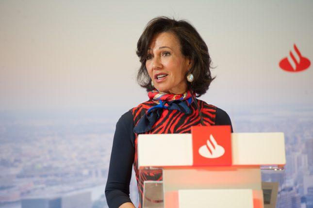 Ana Botín (Banco Santander) pide que los fondos europeos ayuden cuanto antes a las pymes