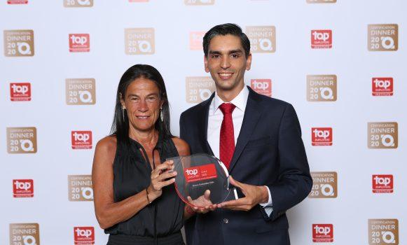 Banco Santander Chile recibe la certificación 'Top Employer' por segundo año consecutivo