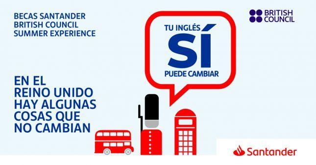Banco Santander y British Council ofrecen más de 1.200 becas para aprender inglés