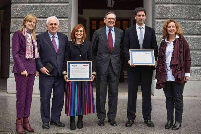 Banco Santander y la Universidad de Deusto entregan los XV Premios de Investigación UD-Santander