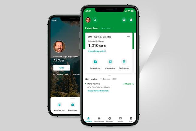 Garanti BBVA renueva su 'app' de banca móvil