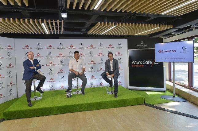 Banco Santander, patrocinador de la UEFA Champions League, apoya el regreso de la competición internacional
