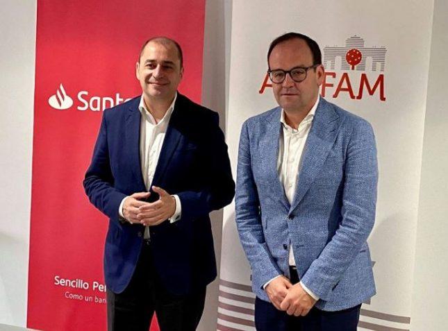 Banco Santander y ADEFAM renuevan su acuerdo estratégico y muestran su apoyo a las empresas familiares de Madrid