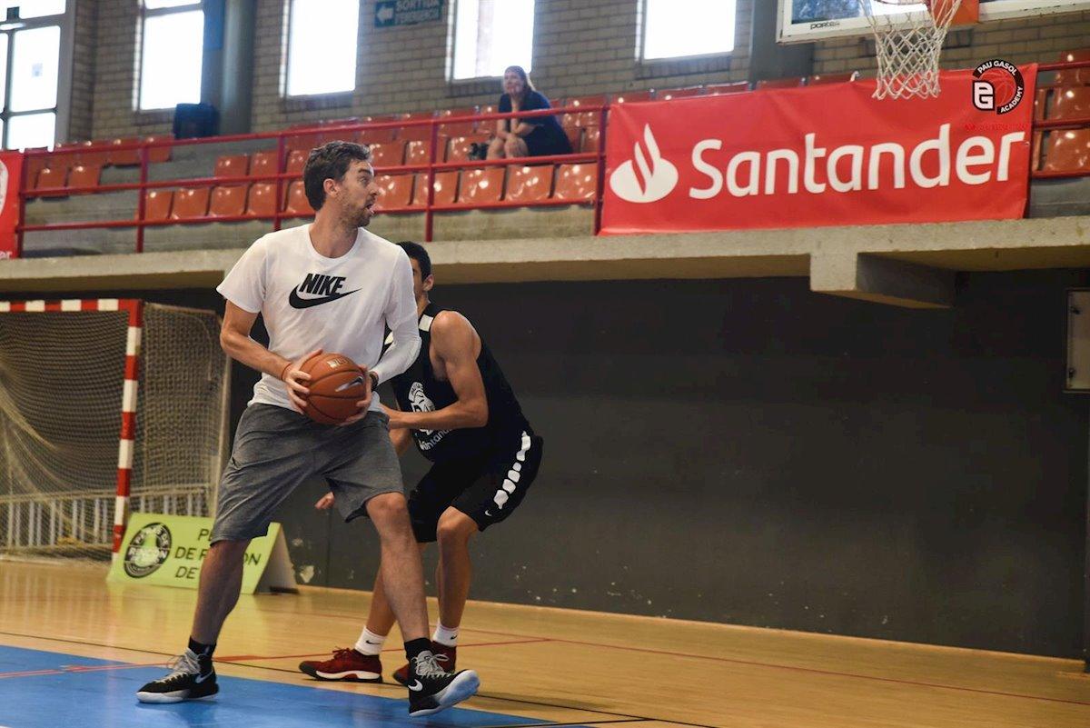 Banco Santander y Pau Gasol ponen en marcha el primer campus online deportivo