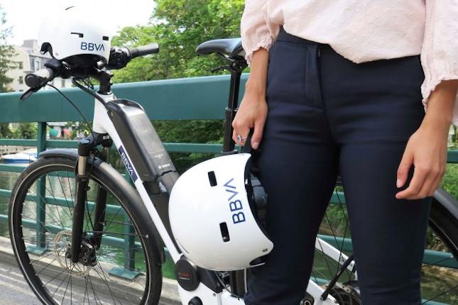 BBVA ofrece bicicletas 'eco' en Suiza
