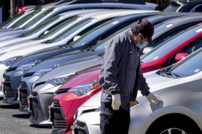 Las matriculaciones de vehículos caen un 13,5 % en septiembre