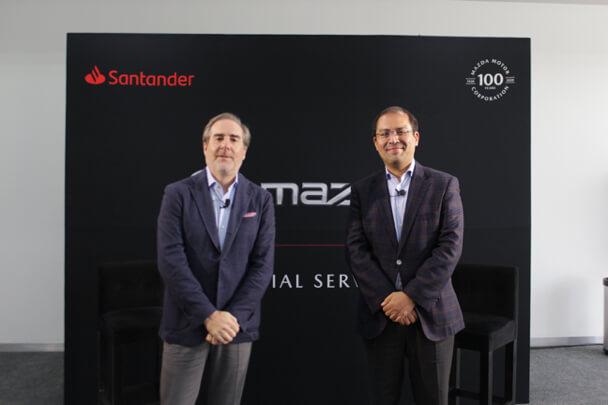 Banco Santander México y Mazda avanzan en su alianza con la puesta en marcha de Mazda Financial Services