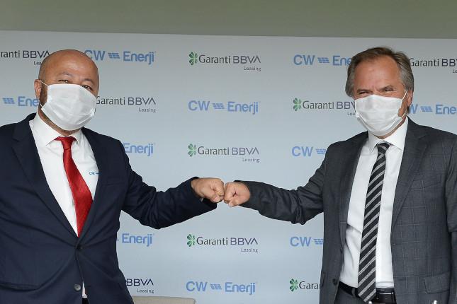 Garanti BBVA y CW Enerji fomentan la instalación de centrales de energía eléctrica