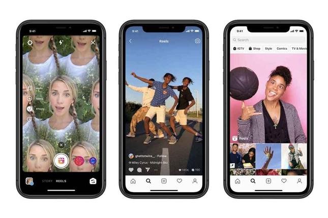 Facebook lanza Reels dentro de Instagram