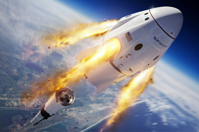 SpaceX lanza 143 satélites en un sólo cohete