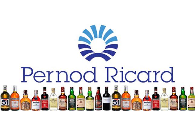 Pernod Ricard gana un 76% menos en su año fiscal