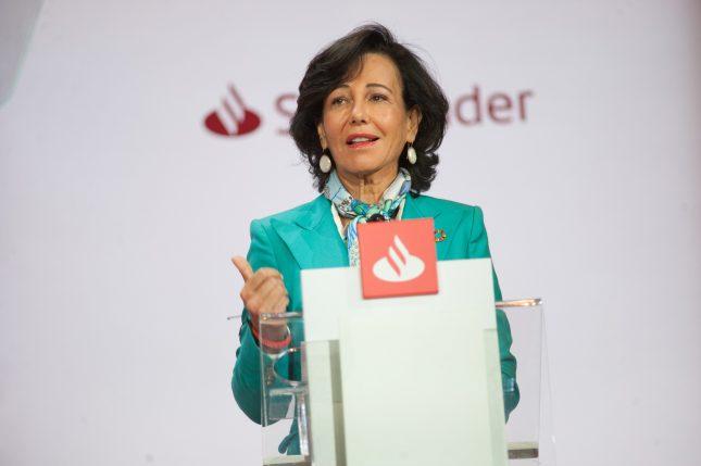 Ana Botín (Banco Santander) solicita una política fiscal competitiva con Europa