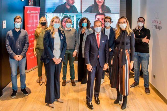 Banco Santander impulsa el emprendimiento como motor de crecimiento económico