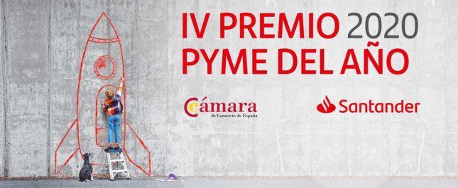Banco Santander y la Cámara de Comercio seleccionan las empresas finalistas del Premio Nacional Pyme 2020
