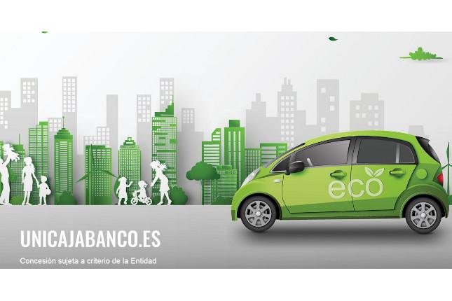 Unicaja Banco lanza el Préstamo Motor Eco Verde
