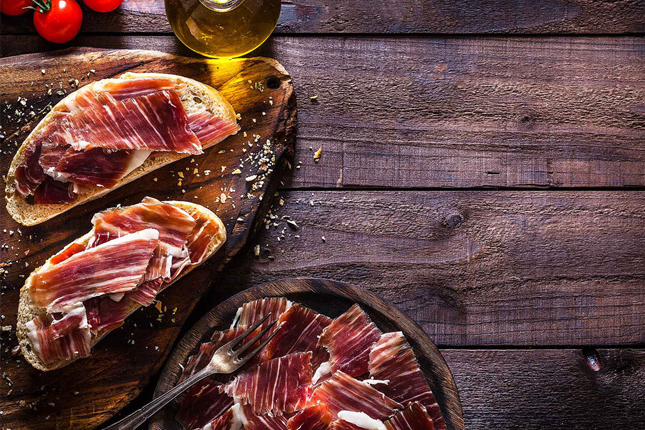 Las exportaciones de jamón curado caen un 2,13% en 2020