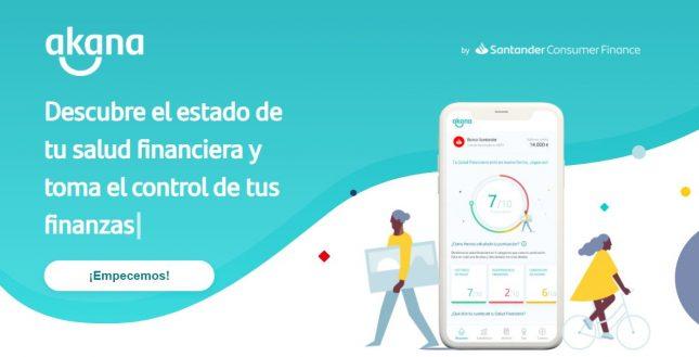 Santander Consumer España lanza Akana, un servicio que te ayuda a conocer tu estado de salud financiera