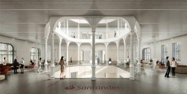 Banco Santander impulsa la innovación, el arte y la tecnología en la transformación de sus edificios emblemáticos en Cantabria