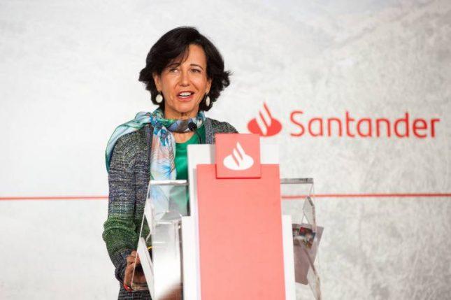 """Ana Botín (Banco Santander): """"Los resultados del primer trimestre muestran nuestra gran orientación al cliente y las ventajas de nuestra diversificación""""."""