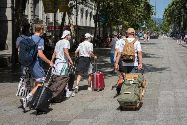 Descenso del 25,8% de las visitas de turistas extranjeros