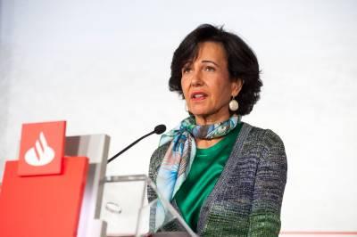 Ana Botín (Banco Santander) llama a hablar de feminismo en el sector financiero