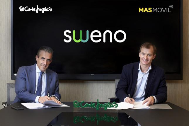 El Corte Inglés y MásMovil lanzan 'Sweno'